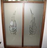 Изготовленный на заказ литерность стекла окна винила и стикер этикет графика