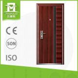 Diseño de acero exterior barato de la puerta principal