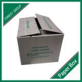 Flexo druckte gewölbten glatten Wachs-Karton-Kasten (FP7009)