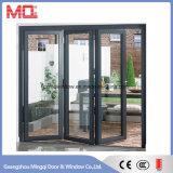 Puerta de plegamiento de aluminio del nuevo diseño