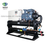 El Ce certificó el refrigerador de agua refrigerado por agua del tornillo para el uso de la industria