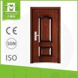 El tubo principal exterior de la casa de la puerta diseña la puerta de la seguridad del metal