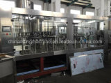PLC контролирует машину завалки минеральной и чисто воды разливая по бутылкам
