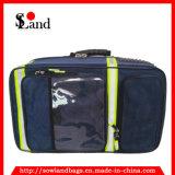 青いIfakの救急処置の医学の道具袋