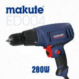 Taladro de mano eléctrico portable de Makute 280W (ED004)