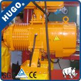 Élévateur à chaînes électrique de Nitchi de 2 tonnes avec le chariot électrique à monorail