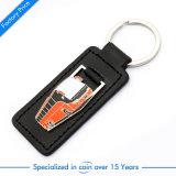Förderung-Bus-Leder-Schlüsselring