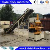 Малой автоматической машина блока земли кирпича глины обжатая машиной
