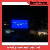 Visualizzazione di LED esterna dell'angolo di colore completo P10 per la pubblicità con il comitato impermeabile