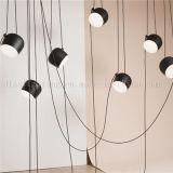 De populaire Lampen van de Tegenhanger van het Aluminium Materiële Acryl voor de Decoratie van de Verlichting van het Restaurant
