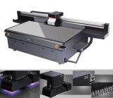 Impresora ULTRAVIOLETA/impresora ULTRAVIOLETA de la base plana con G5 Ricoh para toda la impresión de las tarjetas