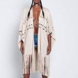 Robe desserrée de cap de bandage de glands de loisirs de femmes de mode