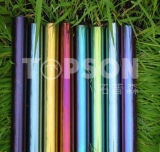 Acier inoxydable soudé / inoxydable Round Pipe Color