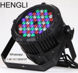 RGB 3Watt LED PAR luz 54PCS impermeable IP65 LED Efecto de luz (HL-033)