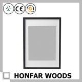 Frame de retrato natural da madeira de faia para a decoração Home da parede