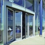 Portello di piegatura della Bi della lega di alluminio con doppio vetro standard australiano per il disegno interno