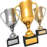 Trofeo d'argento del ricordo per il regalo di promozione