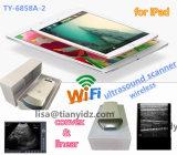 WiFi conectó la punta de prueba del ultrasonido para la tablilla, el teléfono móvil elegante del IOS y el androide