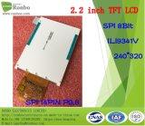 2.2 панель дюйма 240*320 Spi TFT LCD, Ili9341V, 14pin с экраном касания варианта