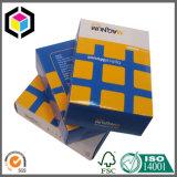 Коробка ясного пластичного картона окна бумажная упаковывая с платой Hang