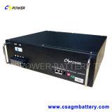 Paquete de la batería de litio solar de 19inch 48V50ah para las telecomunicaciones