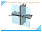 Mur rideau en verre caché économiseur d'énergie