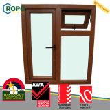 Прокатанная дверь окна Casement As2047 UPVC австралийская французская