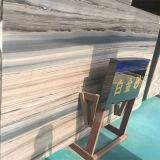 ホーム装飾のためのスペシャル・イベントライン白い大理石の平板を等級別にしなさい