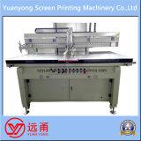 Impresora de la pantalla de seda de la base plana