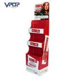 Kundenspezifisches Drucken-gewölbte kosmetischen Förderung-Bildschirmanzeige-Regale