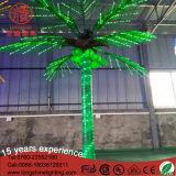 Luz al aire libre de la decoración de la palmera del coco de la emulación del LED para el Ce RoHS de la Navidad