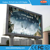 HD P6 Full Color Out Door Signature de publicité LED