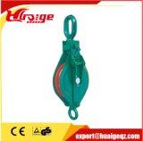 Poulie simple de levage de roue de poulie de bloc de poulie de câble métallique