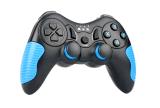 Type de joystick de contrôleur de jeu sans fil Android avec double vibration