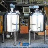 Serbatoio mescolantesi della macchina di raffreddamento ad acqua del commestibile/di raffreddamento