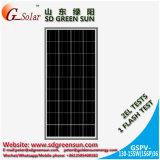 el panel solar polivinílico 130W-155W para el sistema eléctrico solar