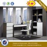 Forniture di ufficio di legno moderne cinesi L Tabella dell'ufficio di figura (NS-ND128)