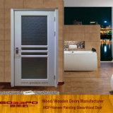 Дверь нутряной кухни матированного стекла деревянная (GSP3-040)