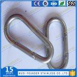 Крюк Carabiner нержавеющей стали DIN5299 Carabiner щелчковый