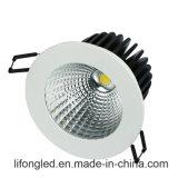 오스트레일리아 플러그를 가진 옥수수 속 LED 유형 중단된 Dimmable 12wdownlight