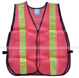 maglia riflettente di sicurezza del tessuto di maglia 75g