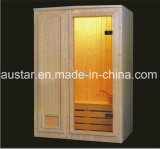 1200 mm Rectangle Spruce Wood Sauna para 2 pessoas (AT-8604)