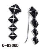 새로운 디자인 형식 보석 귀걸이 925 은