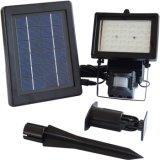 Imperméabiliser la lampe extérieure actionnée solaire de jardin de projecteur de détecteur de mouvement de lumière d'inondation de 30 DEL
