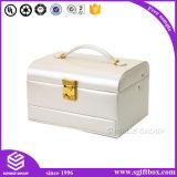 カスタマイズされた贅沢なハンドメイドの包装の宝石類革ボックス