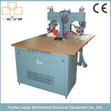 8kw High Frequency Shoe Superior / Vamp Soldagem Fusing Embossing Machine
