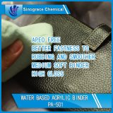 Água - pasta acrílica baseada para a pele elevada do couro do lustro