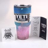 Rambler de Yeti tasse de café isolée par culbuteur de cuvette d'acier inoxydable de 30 onces 30oz
