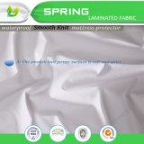 Cojín de goma espuma impermeable de la talla de la reina del color de la superficie polivinílica blanca del Knit