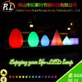 36cm 형식 빛을내는 RGB 계란 Shap LED 빛